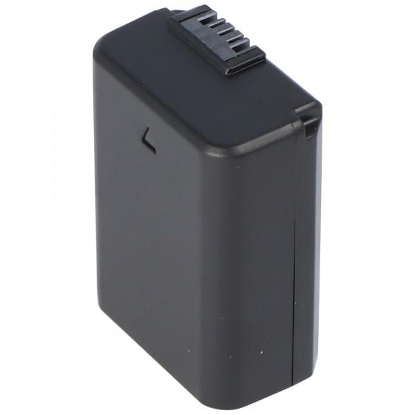 AccuCell-batterij geschikt voor Sony NP-FW50-batterij NEX-3, NEX-5, Alpha 55