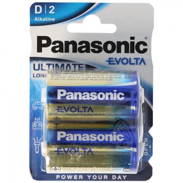 Panasonic EVOIA-batterij de nieuwe alkalinebatterijen Mono / D