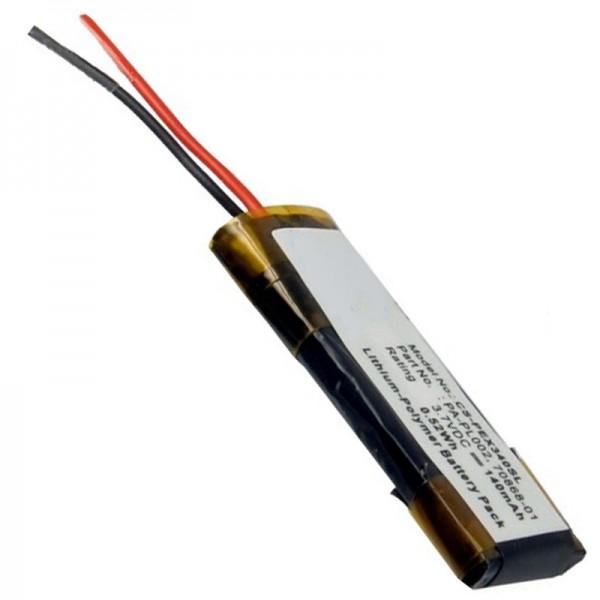 Jabra BT2020 replica batterij, Jabra BT250V, BT4010 replica batterij
