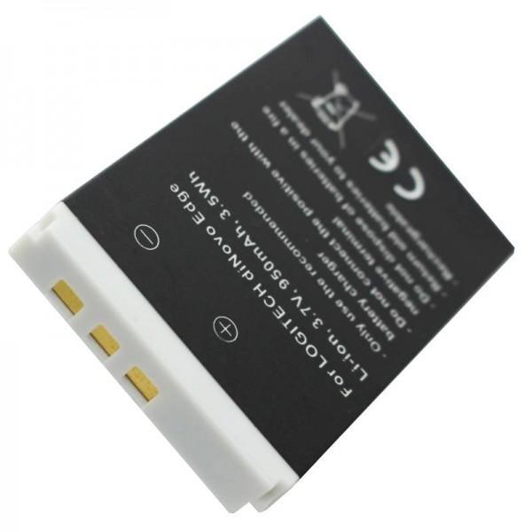 Batterij geschikt voor Logitech diNovo Edge-batterij 190304-2004, F12440071, M50A, DiNovo Mini, Y-RAY81