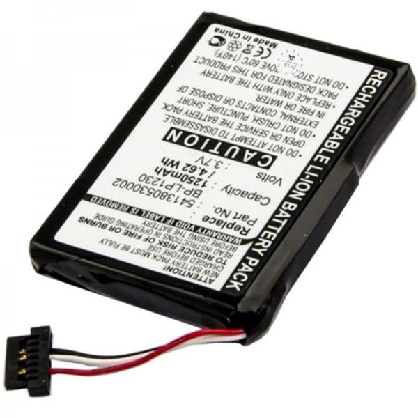 AccuCell-batterij geschikt voor Navman S20, 541380530002, 1250mAh