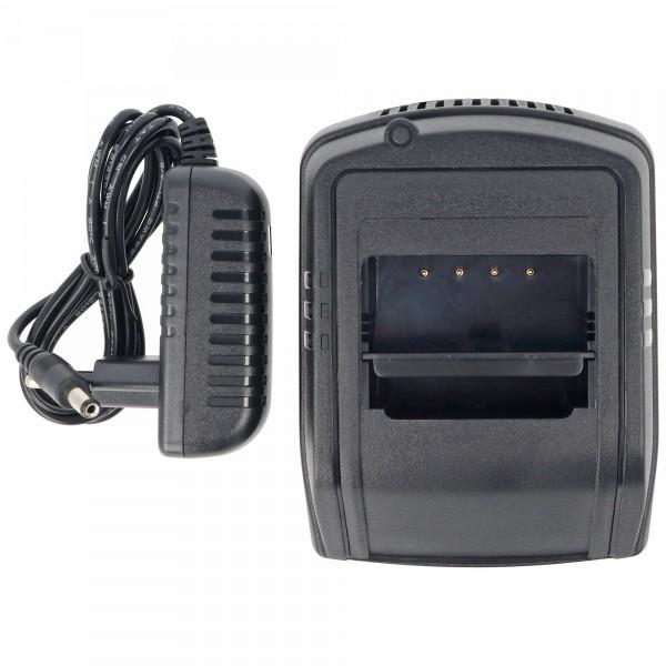 Lader geschikt voor de HBC kraanbatterij FuB10 NiCd en NiMH