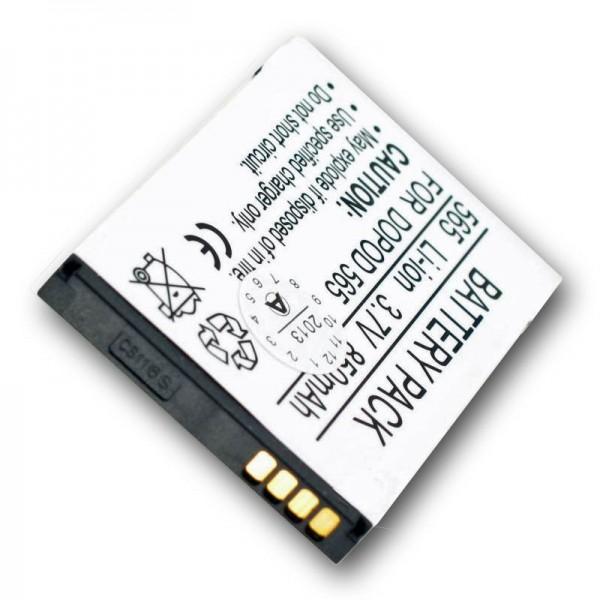 AccuCell-batterij geschikt voor Audiovox SMT5600, ST26