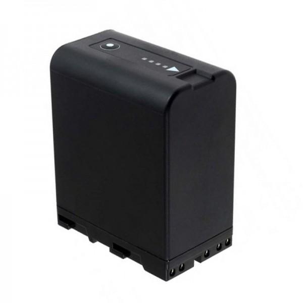 AccuCell-batterij geschikt voor de Sony BP-U30, BP-U60-batterij 14,4 volt, 5200 mAh