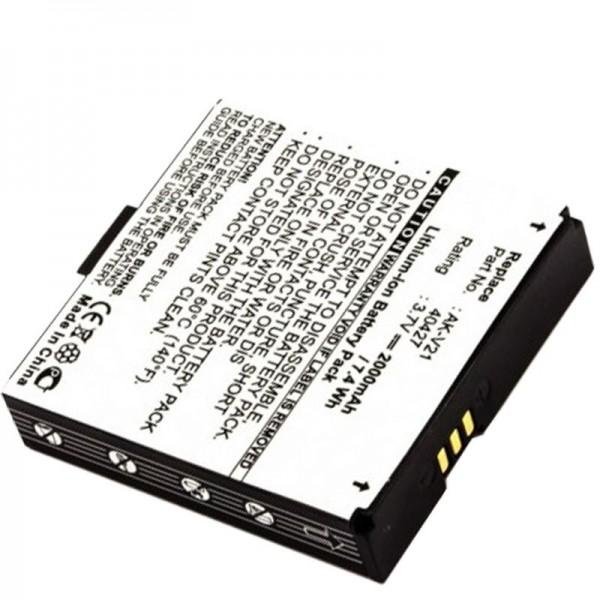 AccuCell-batterij geschikt voor Emporia Time V20, Talk, AK-V21, 40427