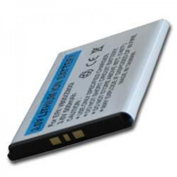 AccuCell-batterij geschikt voor Sony Ericsson Z600i, BST-33, 500mAh