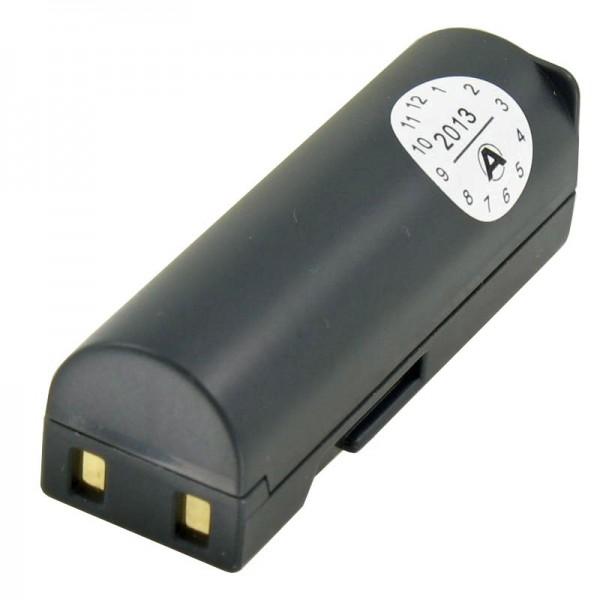 AccuCell-batterij geschikt voor Samsung SLB-0637-batterij, L77