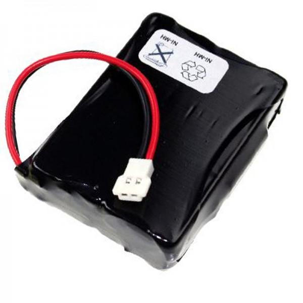 AccuCell-batterij geschikt voor Denso BHT-2000, BHT-2065, 496466-0240