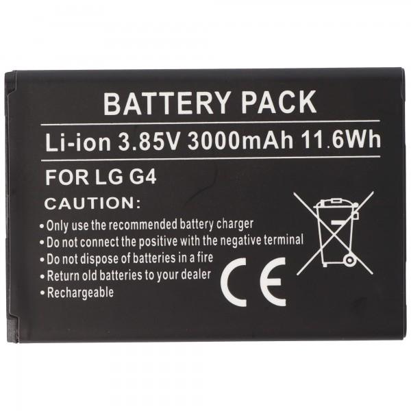 AccuCell-batterij geschikt voor LG BL-51YF-batterij EAC62858501