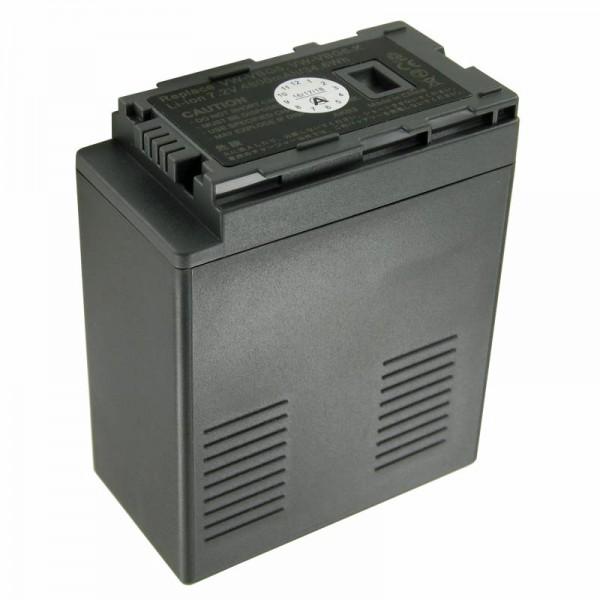 Batterij geschikt voor Panasonic VW-VBG6 batterij (geen originele batterij)