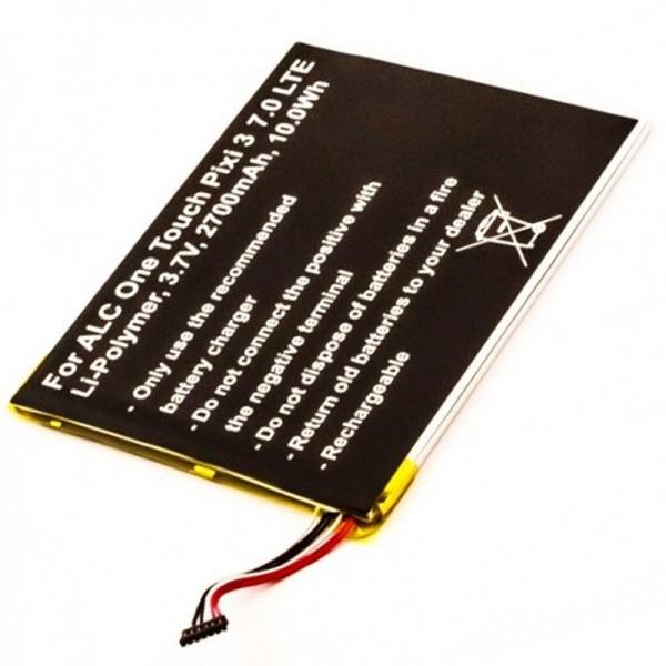 Accu geschikt voor Alcatel One Touch Pixi 3 7.0 LTE batterij TLP028A2, One Touch Pixi 3 7.0 4G