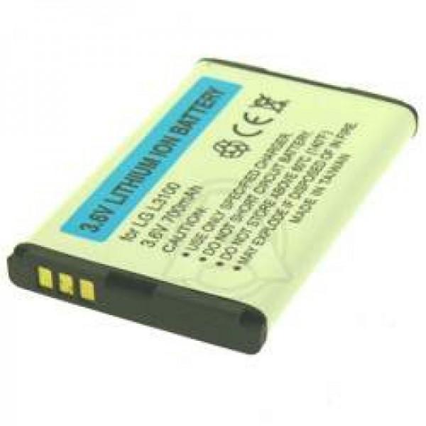 AccuCell-batterij geschikt voor LG L3100, 700mAh