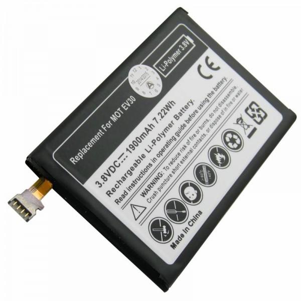 Batterij voor Motorola XT925, Motorola Droid Razr Maxx HD 4G, Motorola EV30