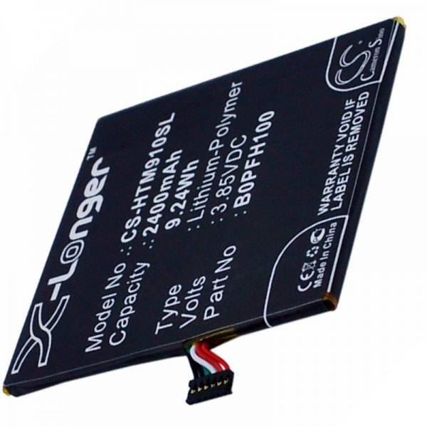 Accu geschikt voor HTC Desire Eye 35H00234-00M, B0PFH100 3.8 volt 2400mAh