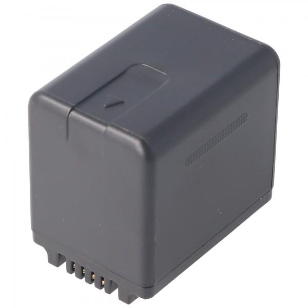 Batterij alleen geschikt voor de Panasonic HC-V110, HC-V130, HC-V710 batterij VW-VBT380, 3880mAh
