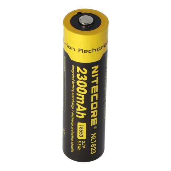 Nitecore Li-Ion batterij type 18650 - 2300mAh - NL1823