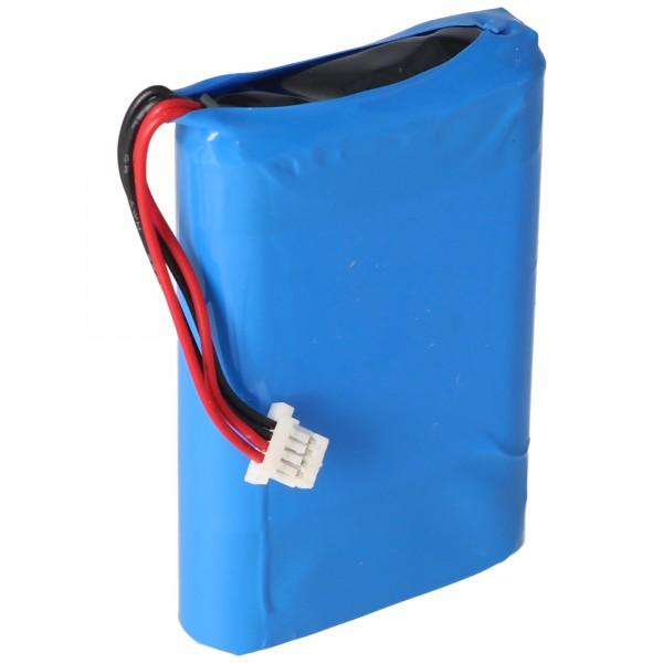 Batterij geschikt voor Nevo S70 afstandsbediening, Nevo batterij A0356 3,7 volt 1700 mAh
