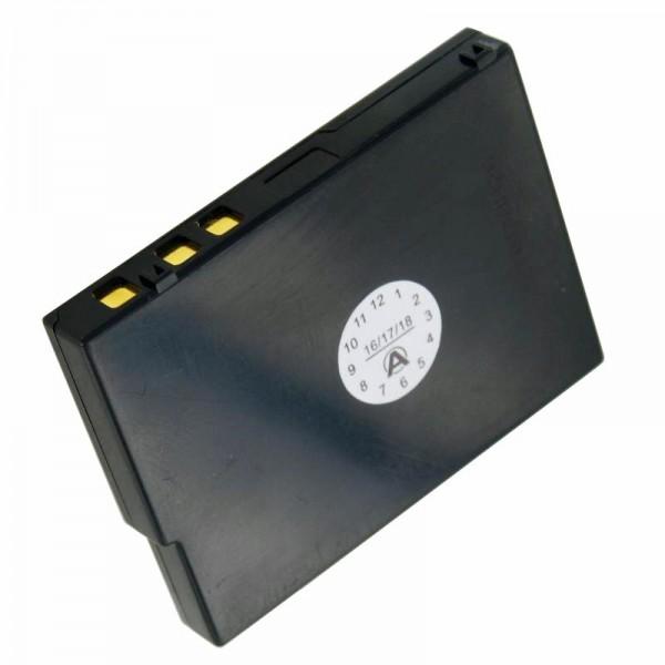 AccuCell-batterij geschikt voor Casio Cassiopeia E-200, JK-214LT