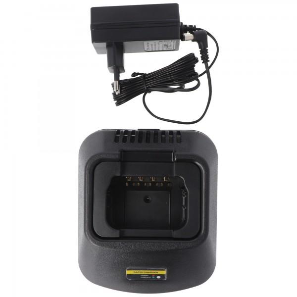 Snellader geschikt voor batterij Motorola GP300, HNN9628A