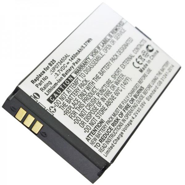 Caterpillar CAT B25-batterij UP073450AL als vervangende batterij