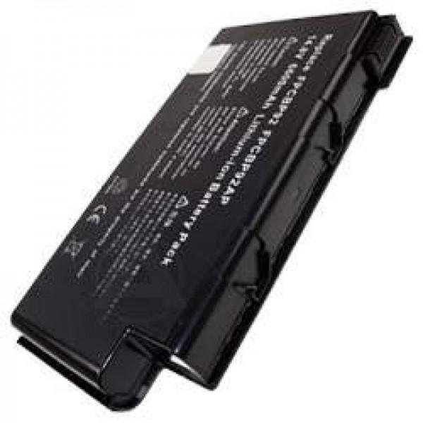 AccuCell-batterij voor Fujitsu Siemens LifeBook N6000, 6010, 6200