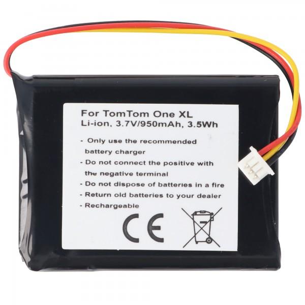 Batterij geschikt voor TomTom One XL-batterij F724035958