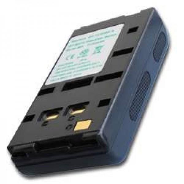 AccuCell-batterij geschikt voor Sharp BT-70, -70BK, -80BK, -80SBK