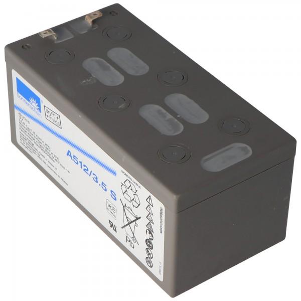 Sonnenschein Dryfit A512 / 3.5S loodbatterij, VdS nr. G190045