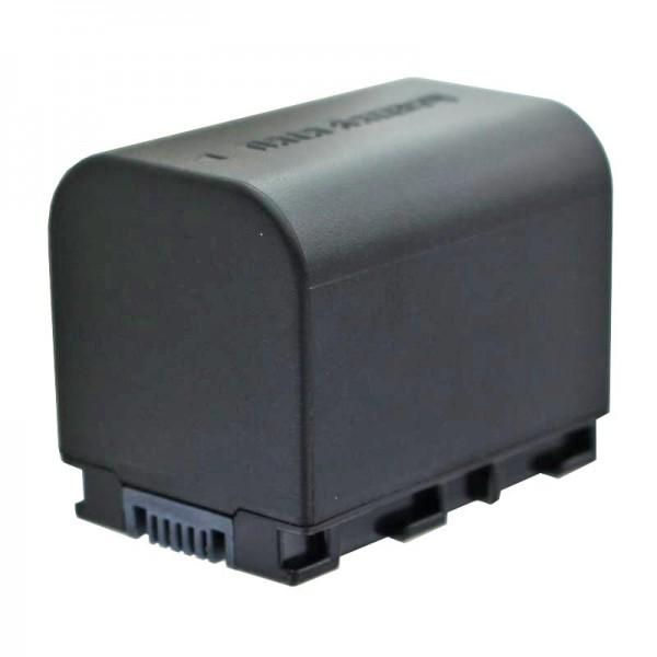 BN-VG121 compatibele batterij van AccuCell met 2400mAh