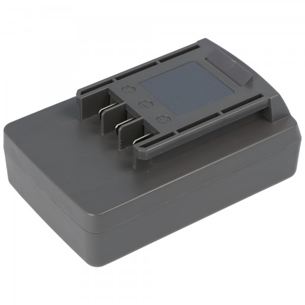 Batterij geschikt voor Wolf Garten Li-Ion Power-Pack 5 batterij 41A20 - L650 met 1500mAh