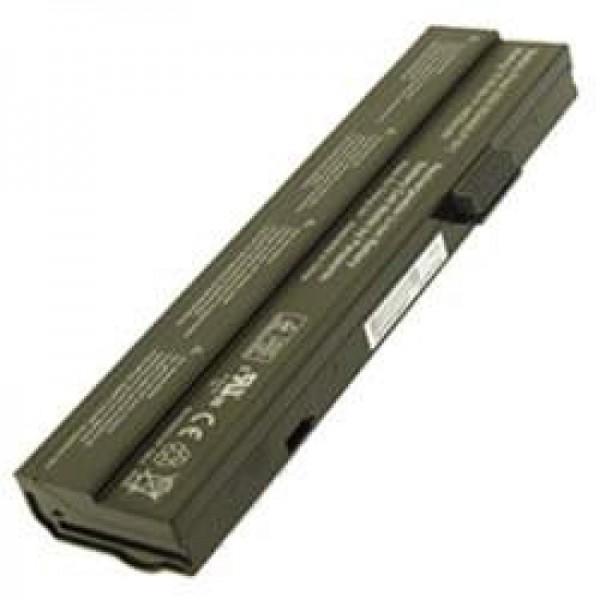 AccuCell-batterij voor Fujitsu-Siemens Amilo M1424 A1640, 6600mAh