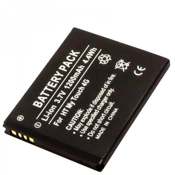 AccuCell-batterij geschikt voor de HTC 35H00142-02M batterij 35H00142-03M