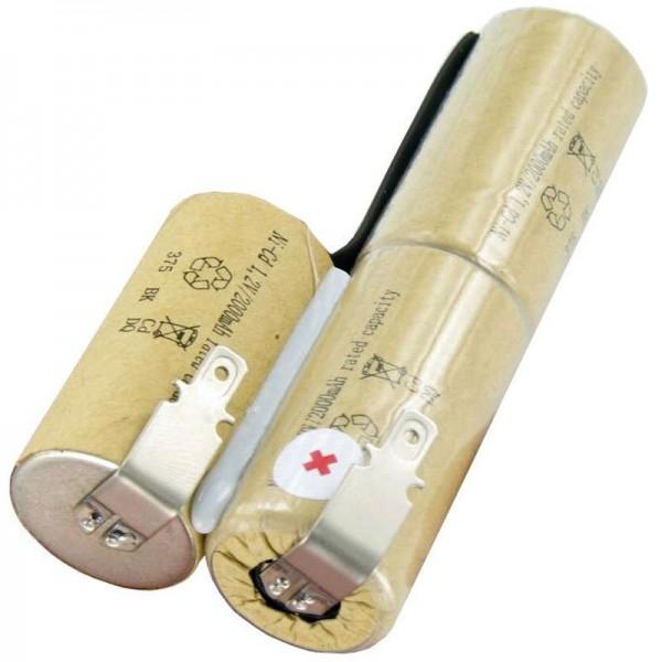 Batterij geschikt voor de Bosch AGS 8-batterij, AGS 8-ST, AGS 50, 3,6 volt, 2000 mAh