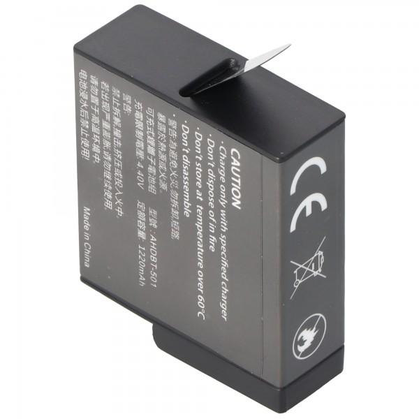 Batterij geschikt voor de GoPro Hero 5 batterij AABAT-001 Li-Ion 3.85 volt