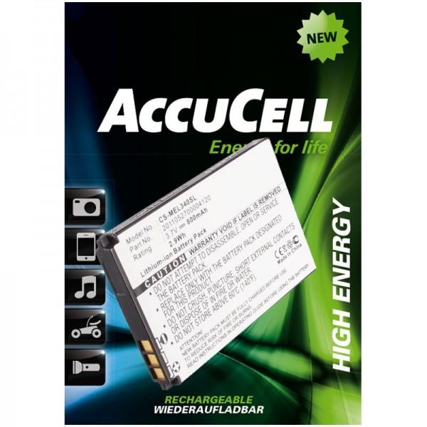 AccuCell-batterij geschikt voor Elson, Mobistel EL340, EL340 Dual, etc.