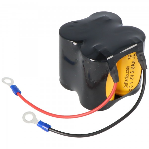 AccuCell-batterij geschikt voor CEAG C5008 Ni-CD