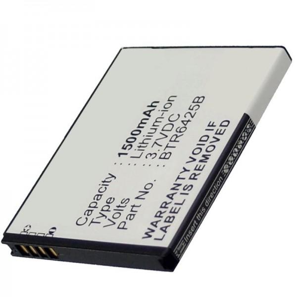 Batterij geschikt voor de HTC Desire SV batterij, Thunderbolt 2 batterij