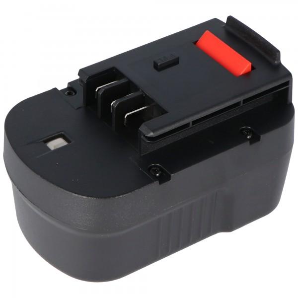 Accu geschikt voor Black & Decker A12, A12EX, A12-XJ, A1712 NiMH 2.0Ah