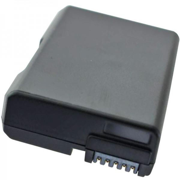 Nikon D3300-batterij EN-EL14A, EN-EL14, EN-EL14e als vervangende batterij van AccuCell met 950 mAh