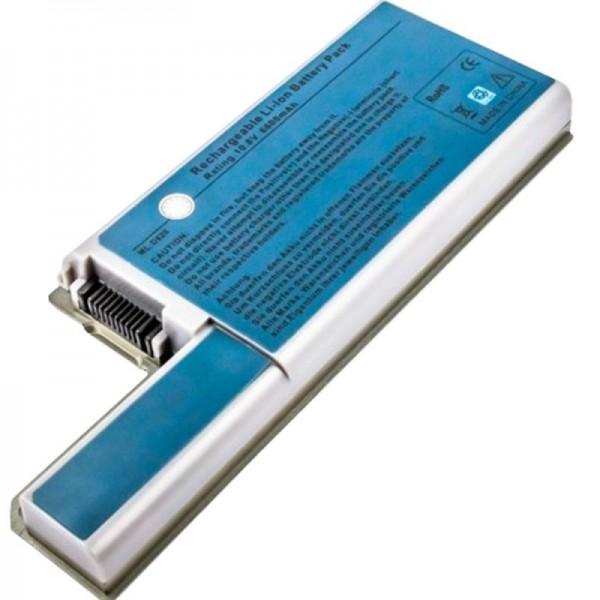 Batterij voor Dell Latitude D830, Dell Latitude D820 vervangende batterij