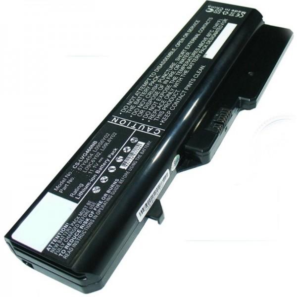 Lenovo IdeaPad G560, M276LGE 5200mAh vervangende batterij van AccuCell