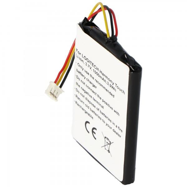 Batterij geschikt voor de Logitech 915-000198, Harmony Touch, Harmony Ultimate-batterij