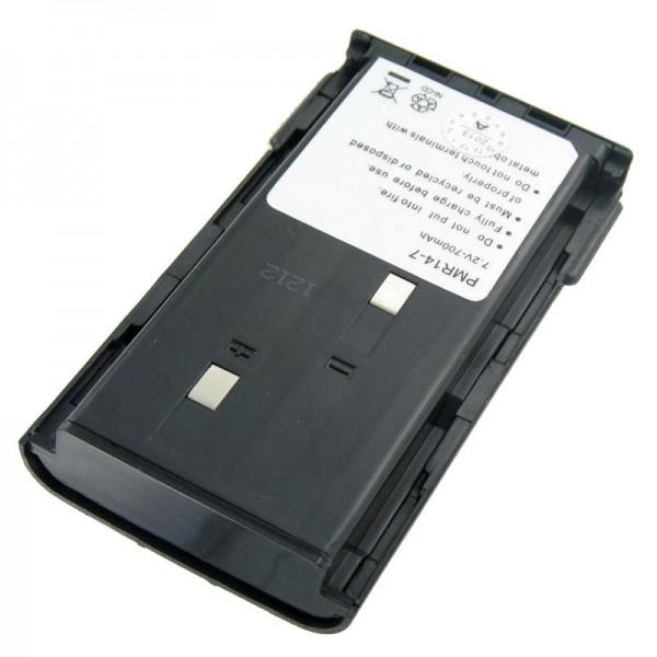 AccuCell-batterij geschikt voor Kenwood TK 261, KNB-14, -15, 1200mAh