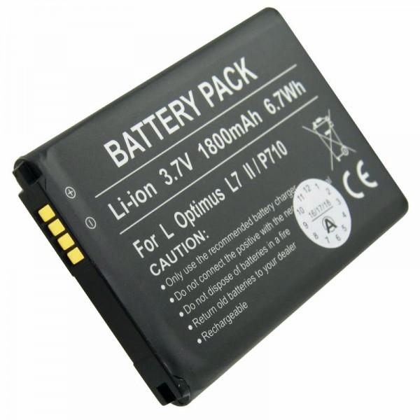 Optimus L7 II-batterij, P710, P715, VS890 als vervangende batterij van AccuCell
