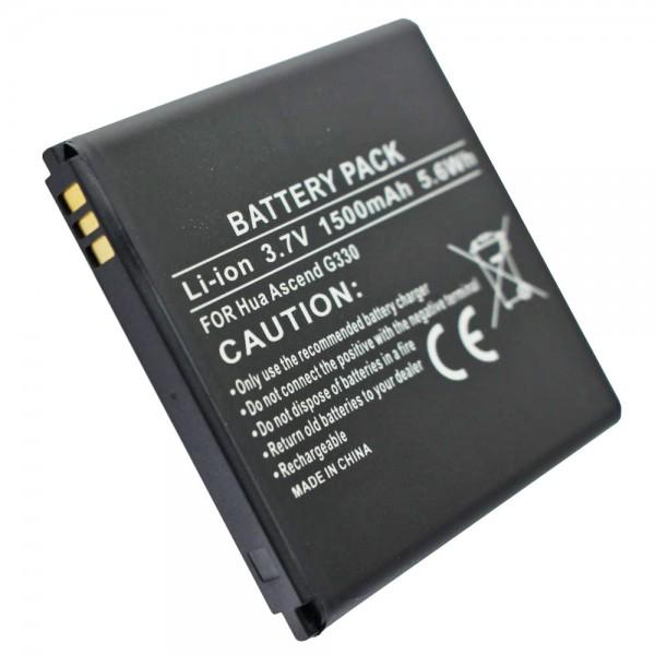AccuCell-batterij geschikt voor T-Mobile myTouch, myTouch Q, myTouch Q U8730, myTouch U8680, U8680, U8730