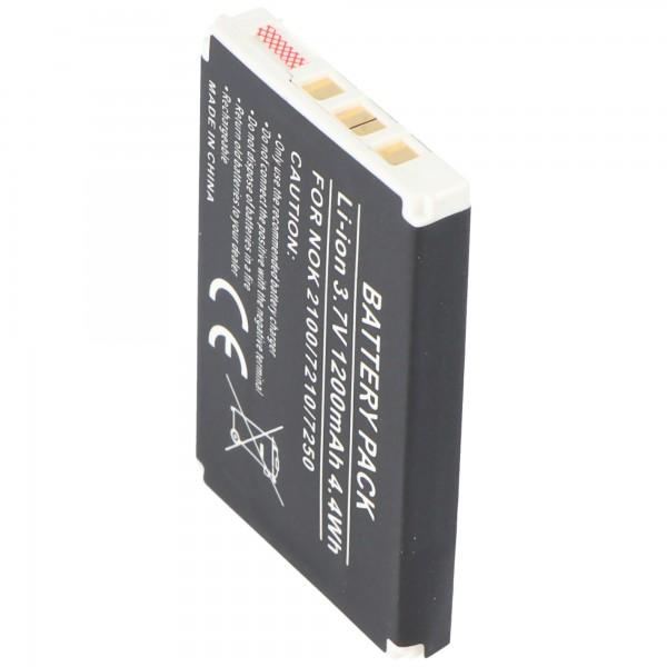 AccuCell-batterij geschikt voor Nokia 6510, BLD-3, 1000mAh