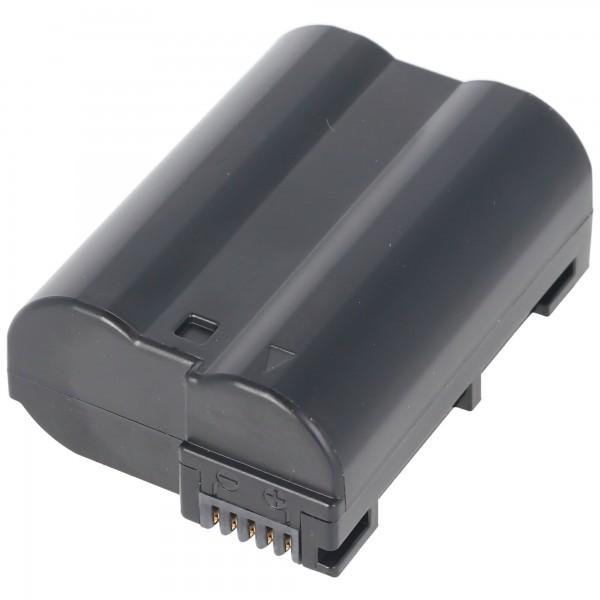 AccuCell-batterij geschikt voor Nikon EN-EL15, CoolPix D800, D800E, D7000, V1, D7200