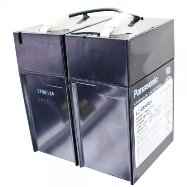 Panasonic LC-R124R2P batterij, LC-R124R5P batterij 12 volt 4.5Ah