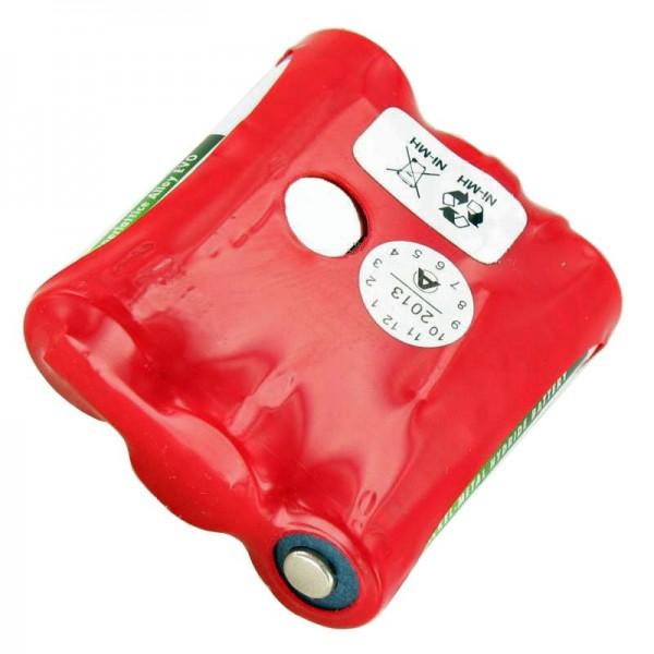 AccuCell-batterij geschikt voor Falcon MX2, MX2WH, 1650mAh