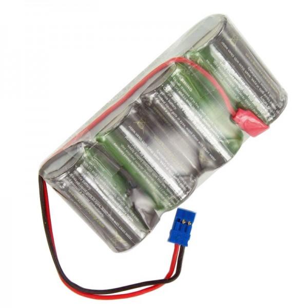 Racing pack 4,8 volt met Graupner-stekker NiMH-batterij 4300 mAh